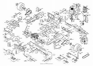 Dixon Ztr 4423  1999  Parts Diagram For Chassis