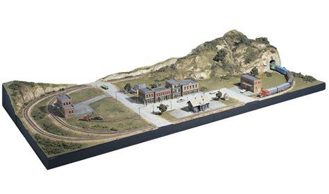model train table kit mountain valley scenery kit layout kits woodland
