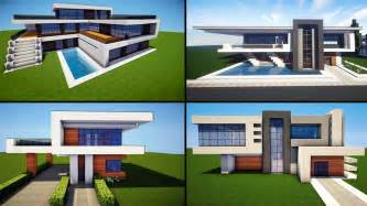 minecraft 30 awesome modern house ideas tutorial 2016