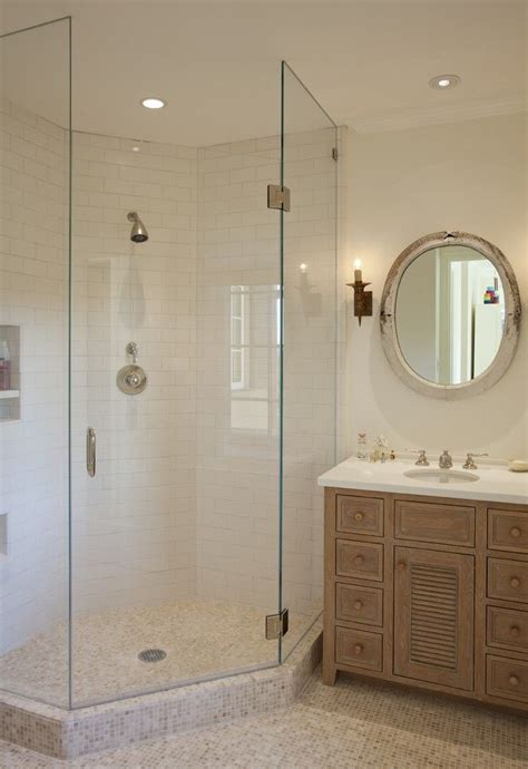 Walk In Shower For Small Bathroom by Corner Shaped Walk In Shower Design Ideal For Small