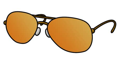 Cartoon Sunglasses Step By Step Drawing Lesson