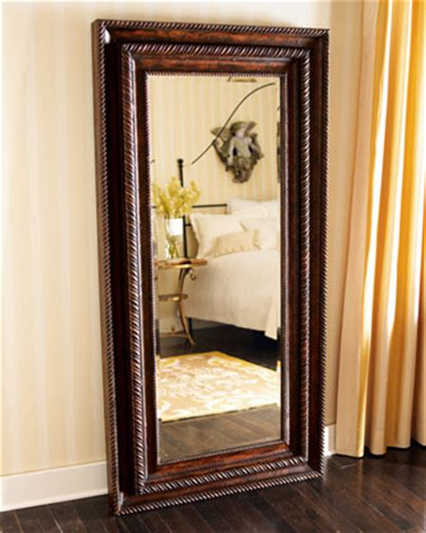 floor mirror jewelry floor mirror with jewelry cabinet traditional mirrors by horchow