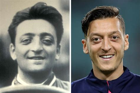 If you want to know more about his life, i suggest you google him, there are a lot of written materials about him. From Ozil and Ferrari to Lesnar and De Bruyne... sport's best lookalikes after new Huddersfield ...
