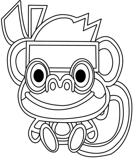 scary monster coloring pages   clip art  clip art  clipart library
