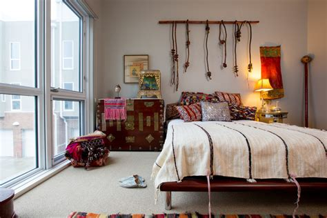 vintage home interior products inspired kilim pillows fashion kansas city eclectic bedroom innovative designs with bedding