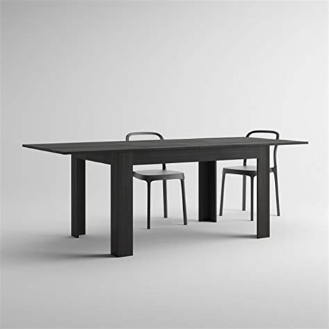 table de cuisine noir table extensible de cuisine pin noir easy