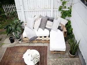 Canape Bois Exterieur : 10 mod les de canap fabriquer avec des palettes de bois am nagez un salon ext rieur peu de ~ Teatrodelosmanantiales.com Idées de Décoration