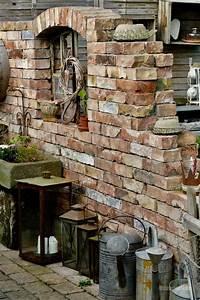 Alte Ziegelsteine Im Garten : zu besuch bei silke denenecek projeler steinmauer ~ A.2002-acura-tl-radio.info Haus und Dekorationen