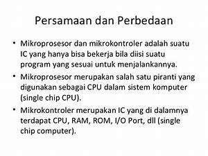 Perkembangan Mikroprosesor