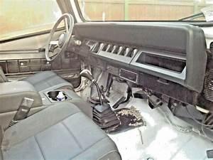 1992 White Jeep Wrangler 4 Wheel Drive Manual Transmission