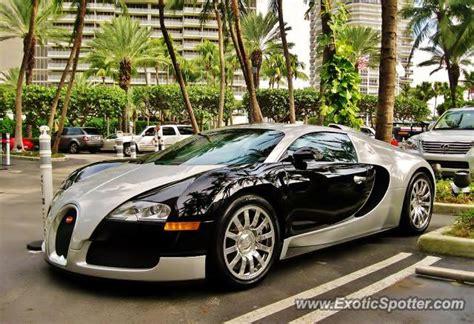 Bugatti In Miami by Bugatti Veyron Spotted In Miami Florida On 12 07 2012