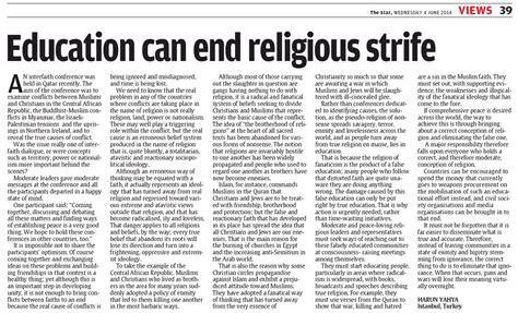 education   religious strife