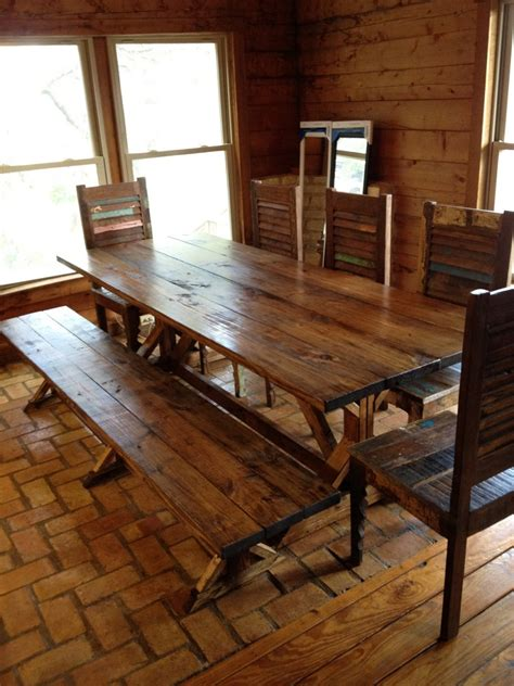 rustic dining room  unique furniture traba homes