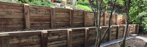 retaining wall on steep slope how to create a workable garden on a steep slope alda landscapes