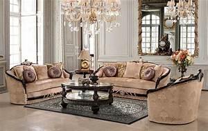 Traditional, Luxury, Sofa, Set, Hd631