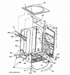 Ge Model Gfd45gssm0ww Residential Dryer Genuine Parts