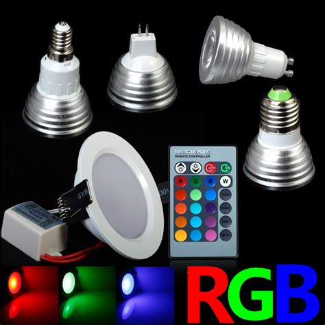 all kinds rgb colorful changeable rgb led spotlight bulb