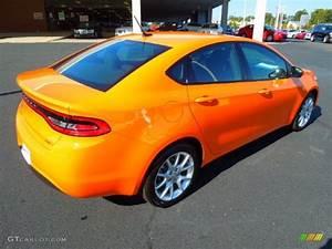 Header Orange 2013 Dodge Dart SXT Exterior Photo #72334666 ...