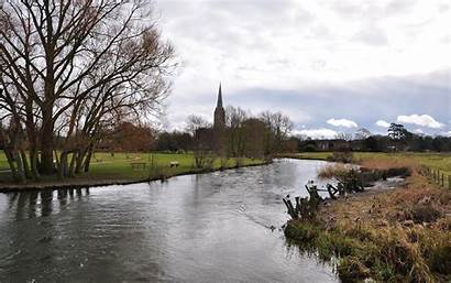 Salisbury Cathedral Wiltshire Kingdom United Places Known