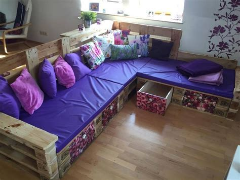 Pallet Corner Sofa Plans   Pallet Wood Projects