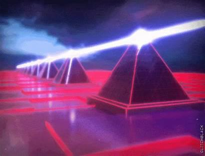 Vaporwave Glitch Dark Pixel Synthwave Cyberpunk