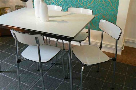 1970s formica kitchen table and chairs design outdoor kitchen vintage porcelain kitchen tables
