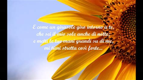 giorgia girasole  testo lyrics hd youtube