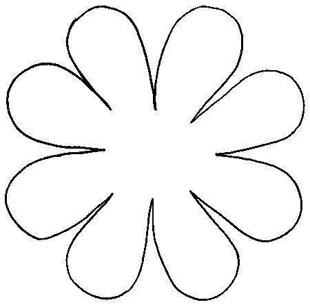 flower cut out template 101 best 3 d flower petal patterns images on fabric flowers paper flowers and