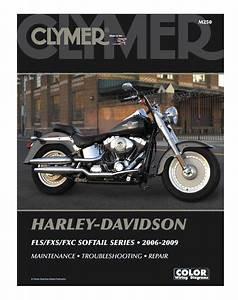 Clymer Manual Harley  Fxs    Fxc Softail