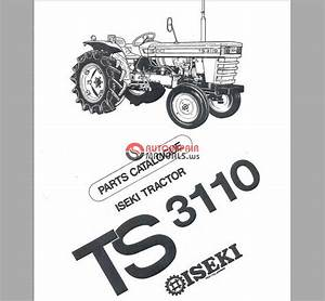 Iseki Ts3110 Parts Manual