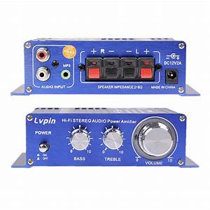 Mini 180w   180w 2ch 12v Small Stereo Audio High Power Car Amplifier For Cd Mp3