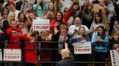 trump supremacist rally campaign usa rt credentials radio press got