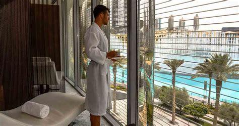 burj club luxurious gym spa  rooftop pool burj khalifa