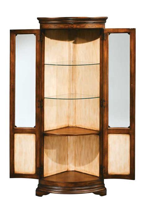 corner display cabinet hillsdale heritage corner display cabinet 4746 893