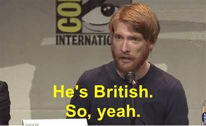 Gleeson British Domhnall Irish Con Comic Hux