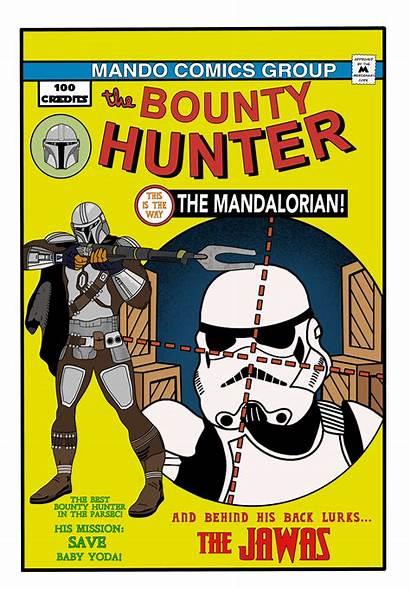 Yoda Comic Bounty Hunter Mission Mandalorian Appearance