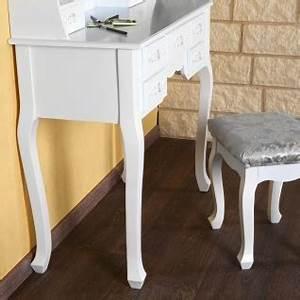 Schminktisch Hocker Weiß : schminktisch mit 3 spiegel hocker frisierkommode frisiertisch kosmetiktisch wei kaufen bei ~ Yasmunasinghe.com Haus und Dekorationen