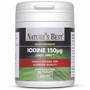 Iodine Kelp Supplements