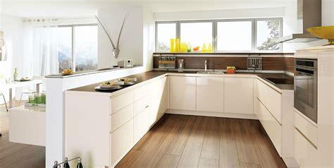 cuisine design blanche cuisine design blanche sans poignée photo 13 20 avec