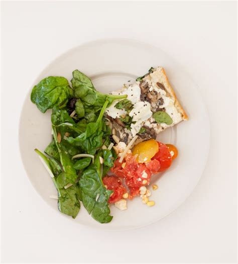 What we ate today: Mushroom and Arugula Pizza, Watermelon ...
