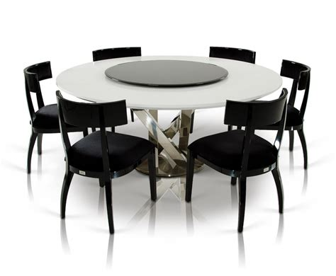 large white dining table modern dining table for 6