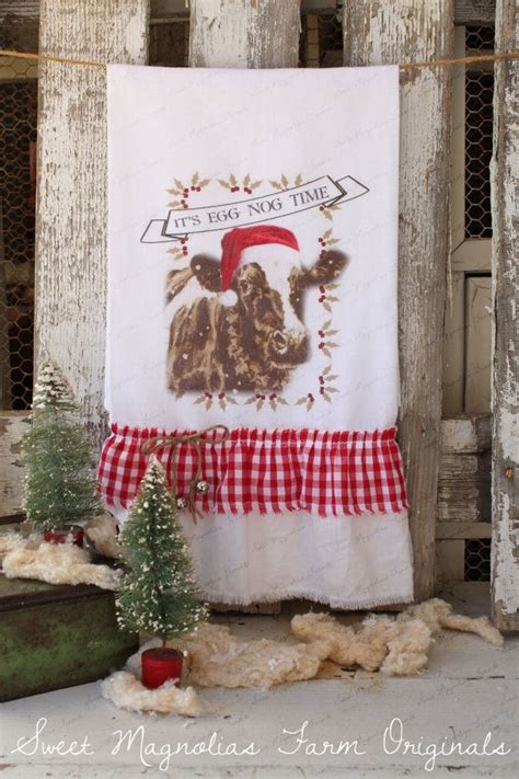 country kitchen towels flour sack kitchen towel by sweetmagnoliasfarm 3630