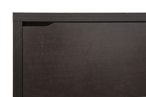 Simms Modern Shoe Cabinet In Brown by Baxton Studio Simms Brown Modern Shoe Cabinet