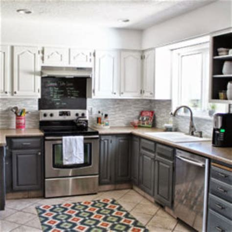 nautical kitchen cabinet 35 two tone kitchen cabinets to reinspire your favorite