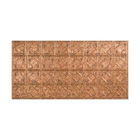 fasade traditional 4 2 ft x 4 ft glue up ceiling tile