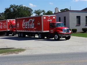 File Delivery Trucks At Mcrae Coca-cola Plant Jpg