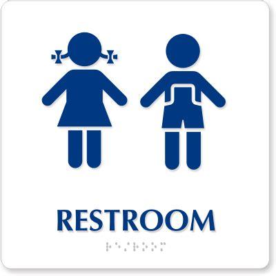 Printable Bathroom Signs For Preschool by Unisex Nursery And Preschool Ada Restroom Signs