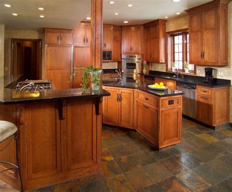 mission style floor ls craftsman style kitchen craftsman pinterest