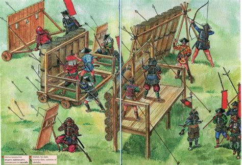 siege warfare japanese siege weapons weapons and warfare