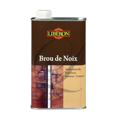 liberon cuisine brou de noix liberon 0 5 l brun foncé leroy merlin